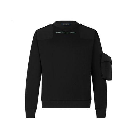 LOUIS VUITTON LV 2054 3D POCKET MIX NYLON Мъжки Пуловер тип Блуза M