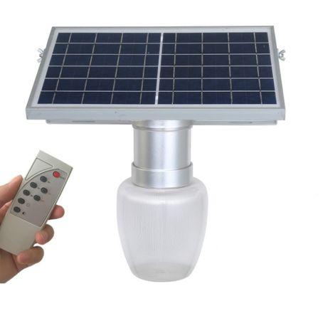 Lampa led solară decorativa 15W cu telecomanda