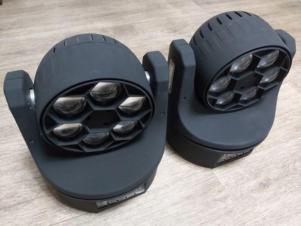Светомузыка - поворотные головы LED BEAM