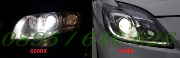 Ксенон Крушки D1S/D2S/D3S/D4S/D2R Super Vision +60% - гр. Варна - image 7
