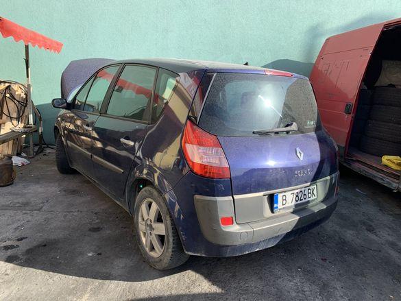 Renault Megane Scenic 1.9 dci на части chasti рено меган сценик 1.9дци