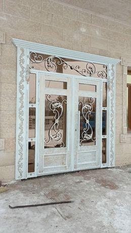 Двери, ворота,решетки,перила,качели,вольеры,навесы,пандусы,мангалы