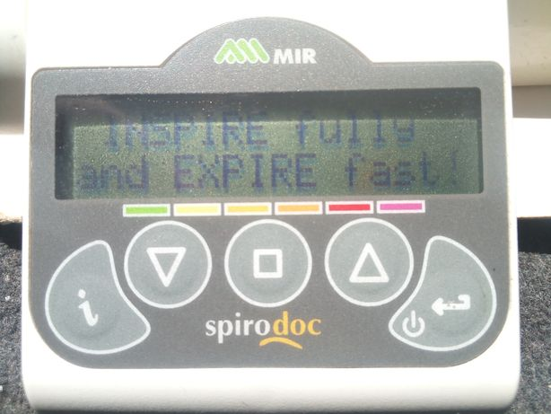 Spirometru Spirodoc Mir