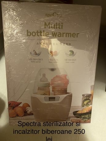 Spectra multi bottle warmer si sterilizator