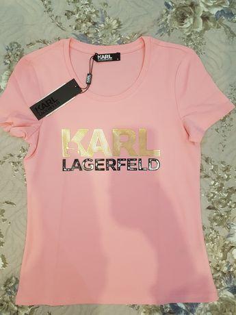 Tricou karl Lagerfeld nou cu eticheta