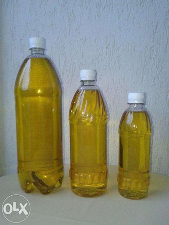 Ulei traditional de floarea soarelui (la Sitau) - aroma puternica