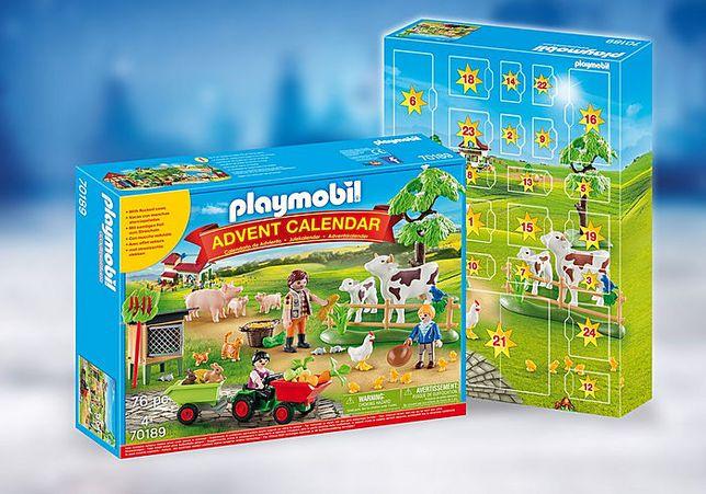 Playmobil Calendar Craciun - Ferma (PM70189)