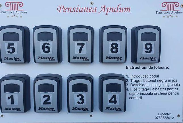Sistem acces pensiune