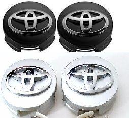 Set 4 Capace Toyota alb sau negru doar pt jante aliaj Toyota