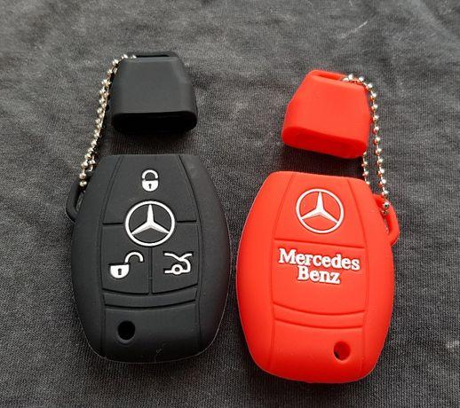 Husa Silicon Cheie Bmw Seria 1,3,5,VW Golf 5,6,7,Passat,Mercedes A,Gla