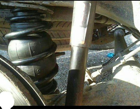 Perne de aer ajutatoare pentru suspensie