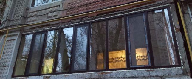 20000 тенге кв.м Пластиковые окна и двери евробалконы витражи