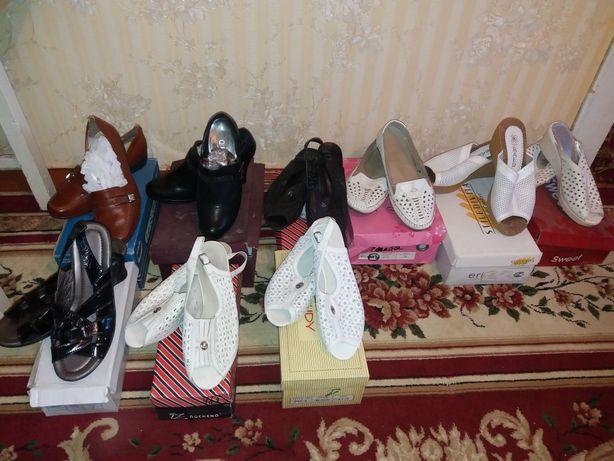 Обувь летняя новая и б/у 39,40,41 размер