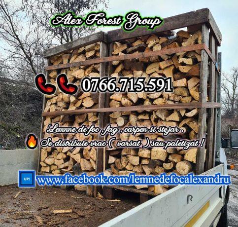 Vand lemne de foc . Depozit real , cu lemne de calitate , la pret bun