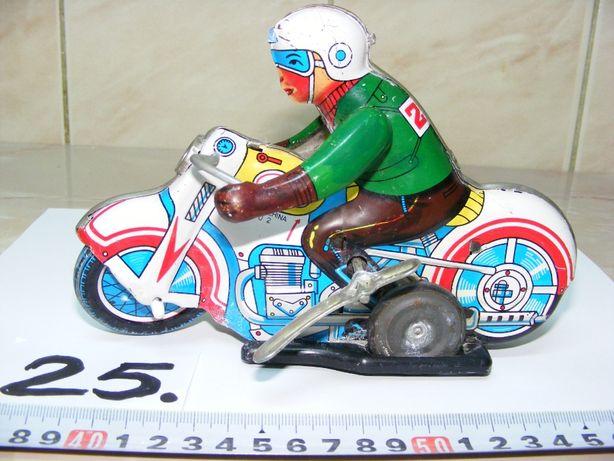 Motocicletă, jucărie tablă, chinezească (cod 25)