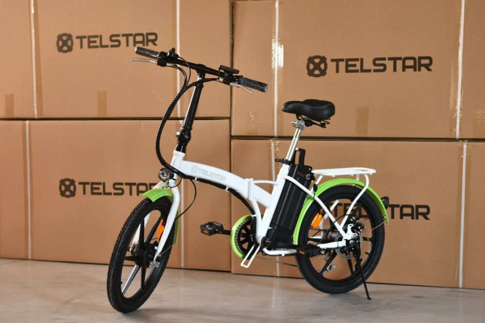 Сгъваем градски електрически велосипед TELSTAR E- BIKE TS-010 FASHION