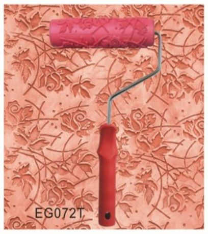 Валик структурный декоративный резиновый