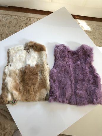 Vestute fete din blana naturala 4-5 ani