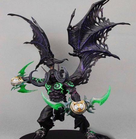Figurina Illidan World Of Warcraft Heroes of the storm wow dota 33 cm