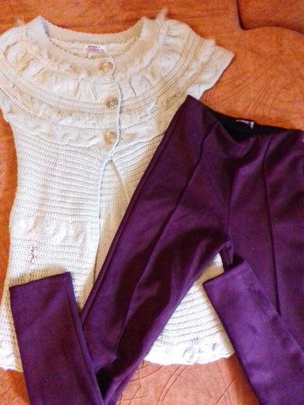 Разпродажба! Клин-панталон и елек 10/12г. Сет за 8лв.