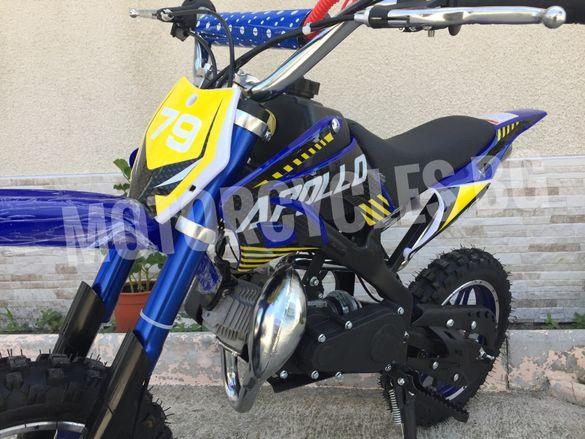 НОВО ! ! ! Детско кросово моторче APOLLO 49сс -2021г.