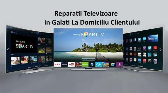 Reparatii Televizoare,LED,LCD,TUB la domiciliu clientului GALATI!