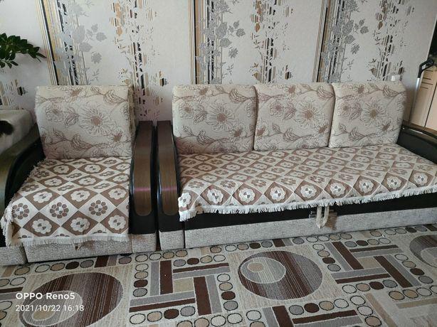 Продам диван трансформер и кресло кровать