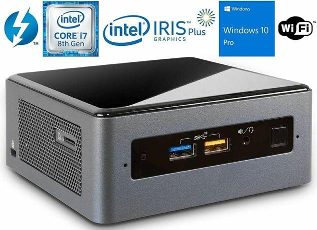 Mini PC Intel Nuc8 I7 Up to 4.5GHz,8GB DDR4, 256GB SSD, WiFi, Blueto