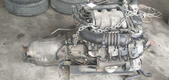 Двигател и автоматик Мерцедес М112 3.2 224 Mercedes M112 3.2 5g tronic