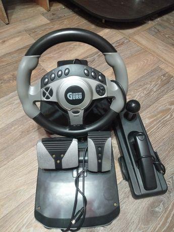 Продам игровой руль GAME GURU