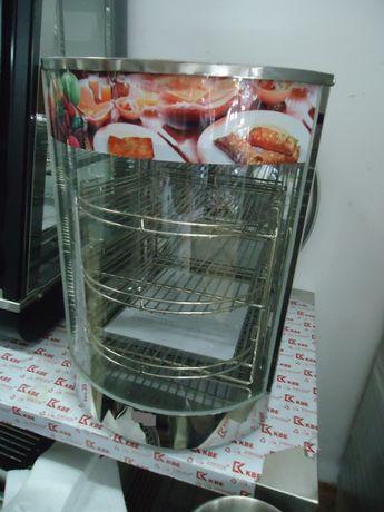 1.Топла витрина нова настолна за закуски,пържени продукти като картофк
