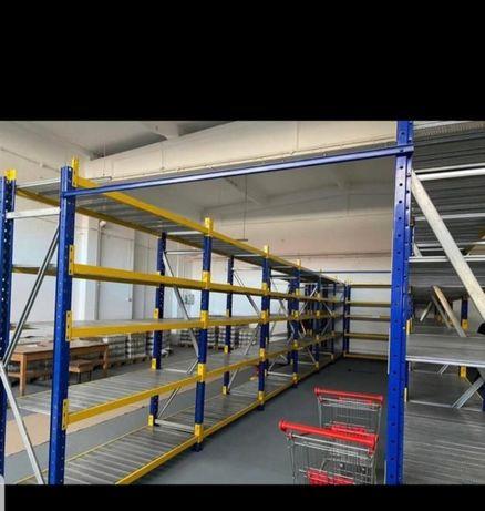 Rafturi metalice cu discount de 20% sub prețul pieței45x7322