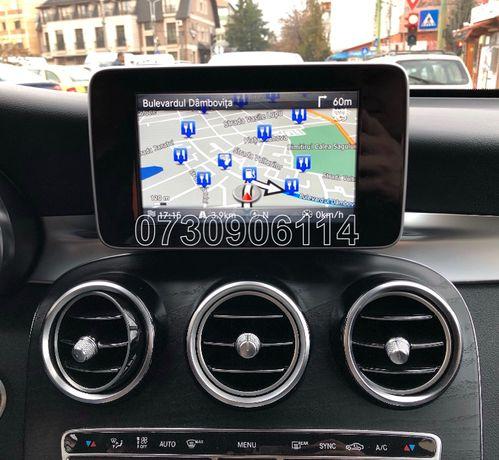Card Original Navigatie Mercedes C V GLC GLE E Garmin Europa Romania