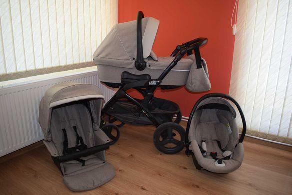 CAM Dinamico UP Smart Бебешка количка 3 в 1 + Cam Kit Auto. В гаранция