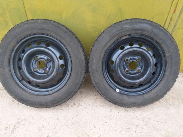 2 бр. Гуми Bridgestone 175/65 14R , и 4 бр. джанти 4х100