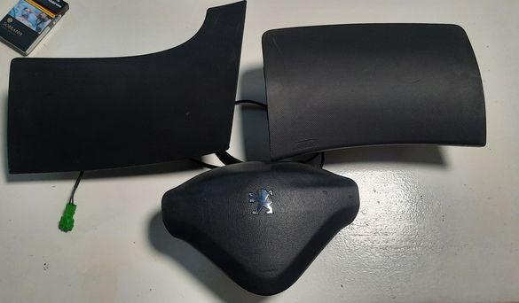 Комплект Аирбаци Аирбаг Аербаг Airbag Peugeot 206 + Plus