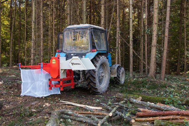 Tocator de crengi AM-160 PTO - toaca lemn pana la 16 cm grosime