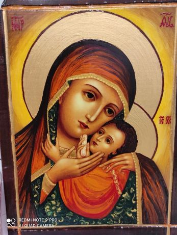 Икона на Св. Богородица Корсунска - рисувана