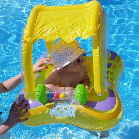 """Круг для купания с козырьком """"Baby Float"""""""