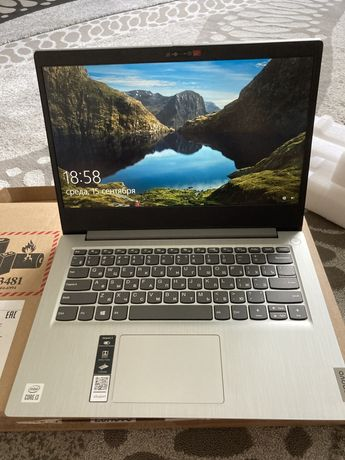 Ноутбук Lenovo ideaPad 3,  14 llL05. Новый, обсолютно новый!