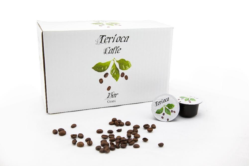 Kафе на капсули Terioca бяла 50 бр.
