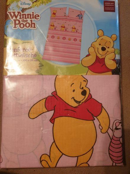 Детски спален комплект/бельо Мечо пух