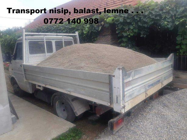 Transport Nisip, Balast, Sort, Lemne, Mobila, Marfa, Fier