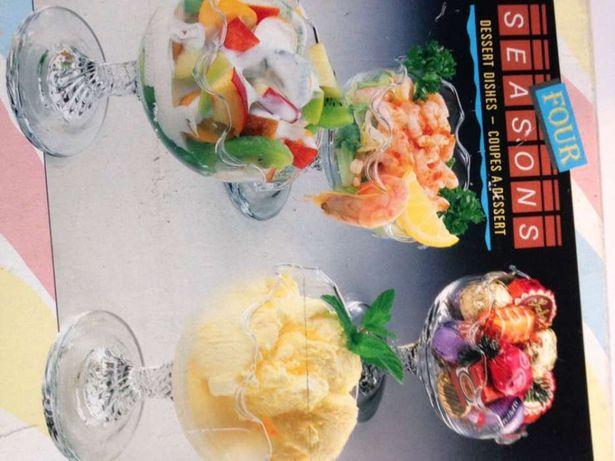 Pahare inghetata/ salata de mare