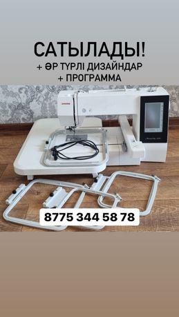 Продается вышивальная машина Janome 500 E+готовые дизайны+программа!