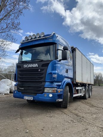 Vand camion Scania 6X4 cereale basculabil