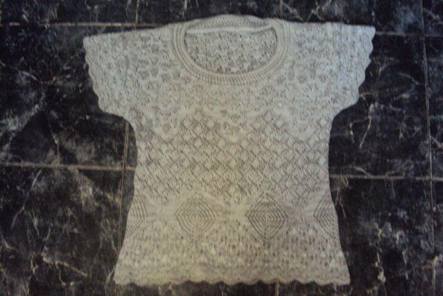 Блузка ажурная. Размер 42-44