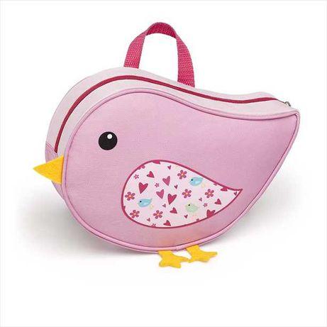 Geanta Bird in forma de pasare, pentru fetite, roz