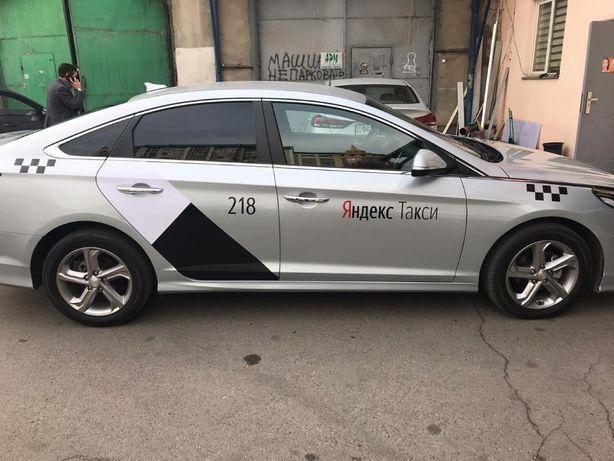 Брендирование автомобилей Яндекс Такси 9000 тг