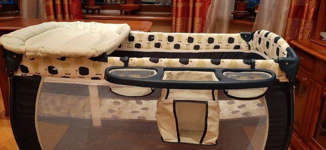 Манеж-кроватка HAUCK в отличном состоянии
